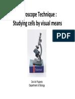 Microscope Teqnique 2014
