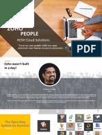 Zoho People Presentation