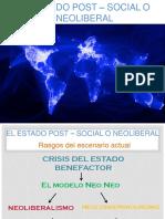 Estado Post Social