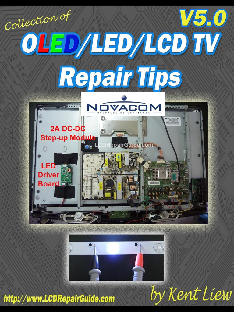 Collection_of_OLED_LCD_LED_TV_Repair pdf | Flash Memory | Backlight
