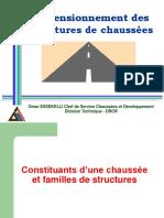 2- Constituants d'Une Chaussée Et Familles de Structures
