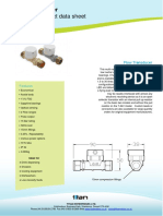 Low Cost Flow Transducer Flow Meter