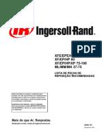 Ingersoll Rand - Lista de Peças 75 a 100 HP Cougar