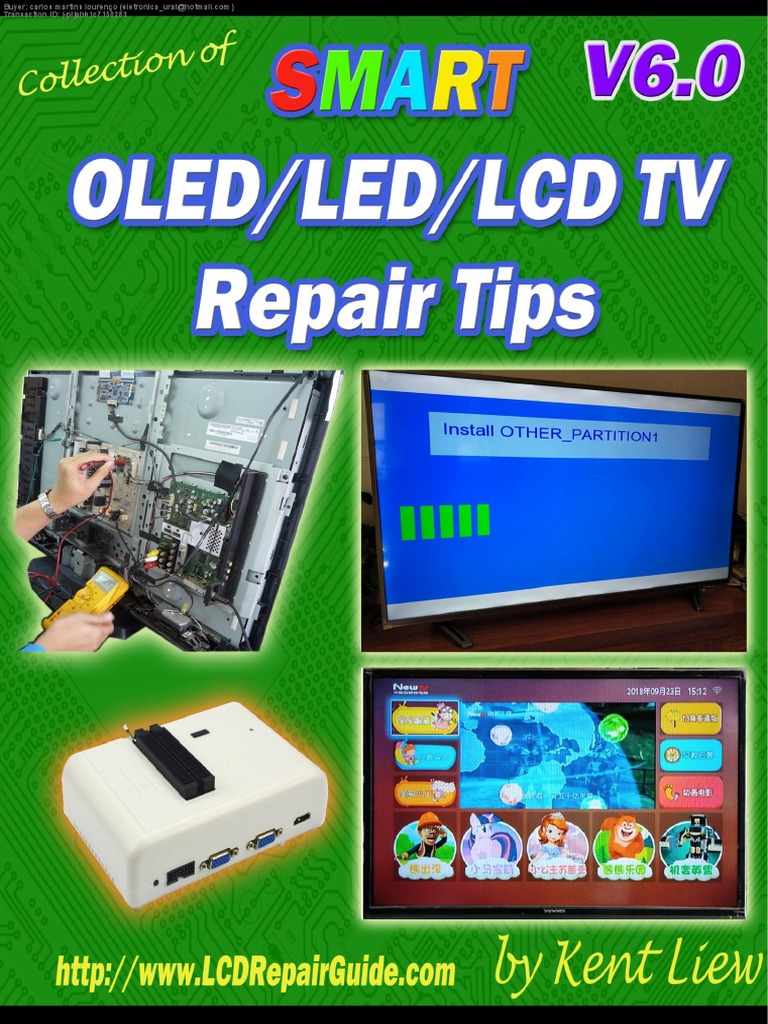 v6-smart-oled-led-lcd-tv-repair-tips pdf | Power Supply | Flash Memory