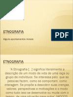 etinigrafia estagio