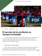 02.05.2019. El Secreto de La Confesión Es Siempre Inviolable - Vatican News