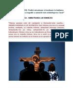OMUL IN FATA CRUCII - CRUCEA, IMBRATISAREA LUI DUMNEZEU - Predici miscatoare si trezitoare la lnaltarea Sfintei Cruci.docx