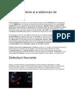 Testarea bateriei si a sistemului de incarcare.docx