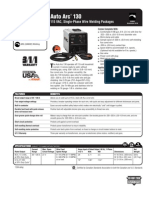 Spec Sheet - Auto Arc 130