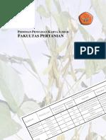 Pedoman KI Faperta 2010 - Lengkap