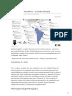 EE UU en America Latina, El Nuevo Orden Mundial