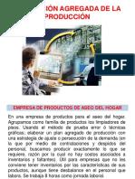 Planificacion agregada de la producción