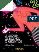 Libro La Venganza Del Profesor de Matematica