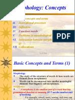 Morphology Concepts