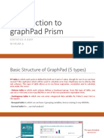 Introduction to GraphPad Prism