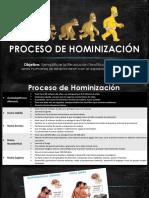 Proceso de Hominización- Repaso 2019