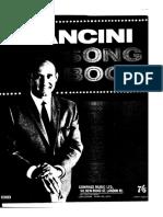 Henry Mancini Mancini Song Book Book