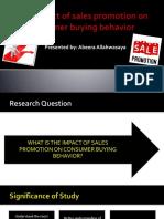 Final Thesis Presentation (Impact of SP on CBB)