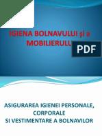 7-Igiena Bolnavului Si a Mobilierului