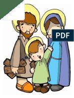 Las Vocales y La Sagrada Familia