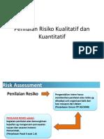 4. Penilaian Risiko Kualitatif Dan Semi Kuantitatif