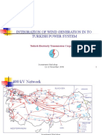 Integration Wind Generation to Turkish Power System
