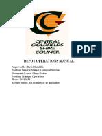 Depot Operations Manual