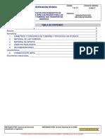 Procedimiento Soldadura Tuberia a53 Sch 40
