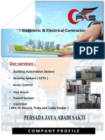 Compro PT PAS Electronical and Electrical Contractor