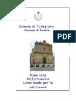 Piano Performance e orientazioni per la valutazione (Palagiano)