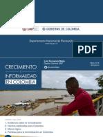 Crecimiento e Informalidad en Colombia