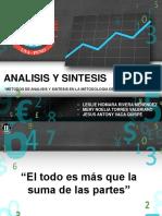 Analisis y Sintesis Metodologia