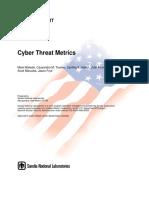 Cyber Threat metrics_SANDIA Report.pdf