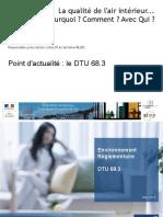 Qualité de l'Air Intérieur_le DTU 68.3