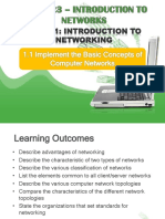 Topic 1a Intro to Network