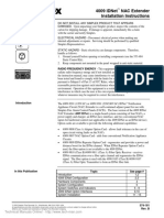 Simplex-4009+IDNet+NAC+Extender+Installation+Manual+Rev+B