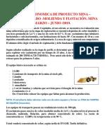 PROYECTO EN EVALUACIÓN ECONOMICA DE UN PROYECTO MINA SUBTERRANEA  2019.docx