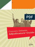 Debates Adjudicators Guide
