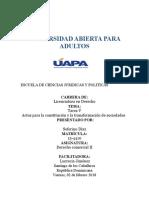 Tarea v Derecho Comercial II