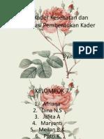 Konsep Kader Kesehatan dan Implementasi Pembentukan Kader.pptx