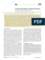 01 Oil Shale Pyrolysis- Conversion Dependence of Kinetic Parame
