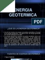 Energia Geotermica(1)