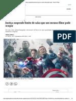 2018_11_27_Justiça suspende limite de salas que um mesmo filme pode ocupar - Jornal O Globo