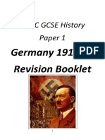 Germany Depth Study Revision Guide