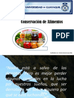Introducción a la conservación de alimentos