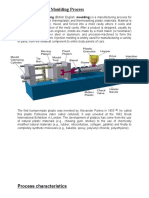 Plastics Injection Moulding Process
