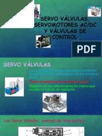 Servo Válvulas, Servomotores Ac