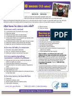 LTSAE SPN Checklist With Tips 18 Meses