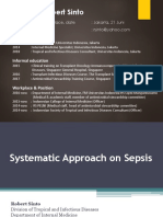 Systemic Approach to Sepsis EIDCP2018