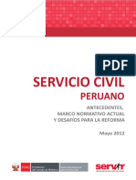 Lectura 7 - SERVIR - El servicio civil peruano.pdf